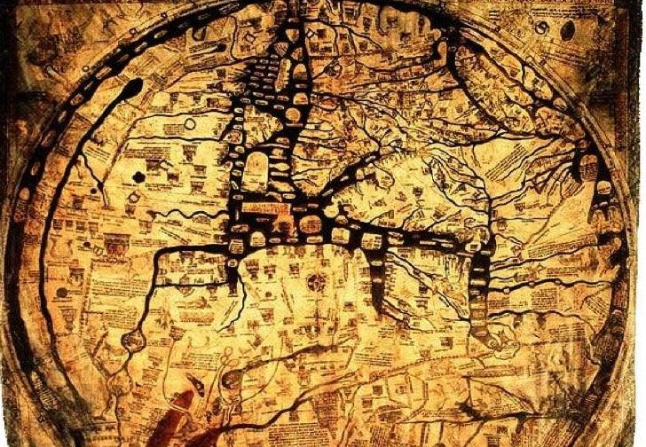1300 – Mappa Mundi<br />elefthis1 on Flickr : http://www.flickr.com/photos/61288890@N00/2141540887/<br />