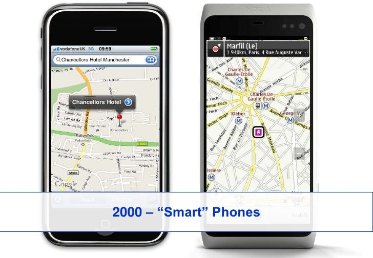 """2000 – """"Smart"""" Phones<br />"""