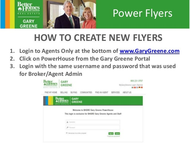ez to do power flyers from bhgre gary greene