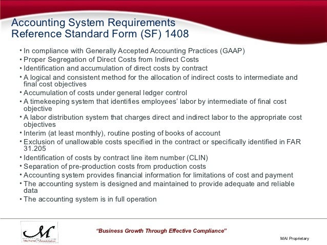 Government Compliant Accounting Really What Does It Mean How Do I