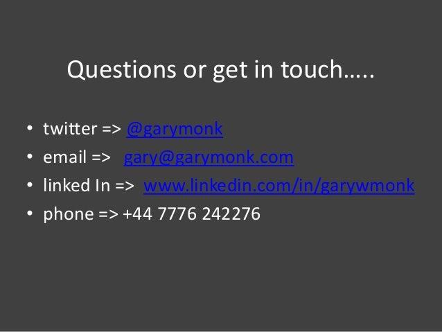 SMi Social Media - Jan 2013 - GSK FaceBook Pharma Case Study (Gary Monk)