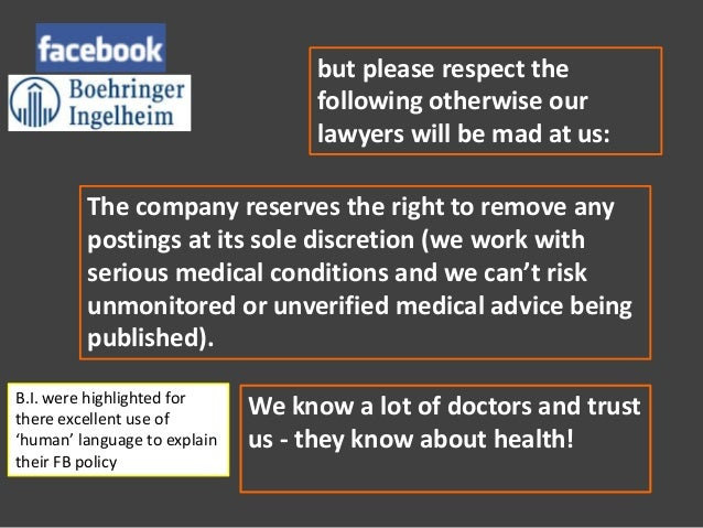 GSK attempted toengage with thispersistentdetractor, and lateradopted theseemingly sensiblepolicy of allowinghis posts but...