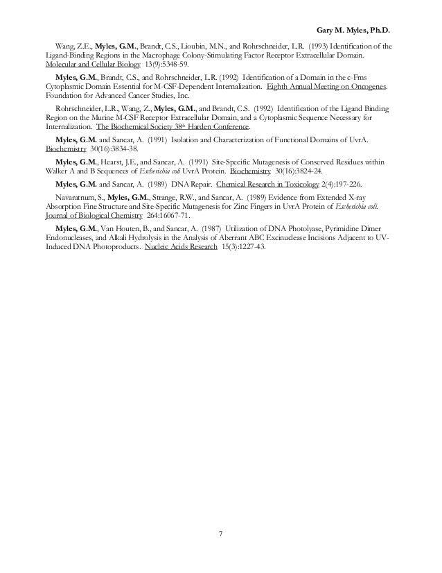 7 - Biotech Patent Attorney Sample Resume