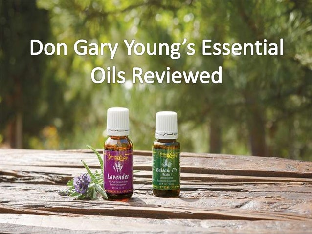 Don Gary Young founded Young Living Essentials Oils 20 years ago after experiencing the outstanding healing and therapeuti...
