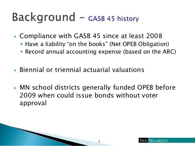 Gasb 75 preparing for opeb overhaul  Slide 3