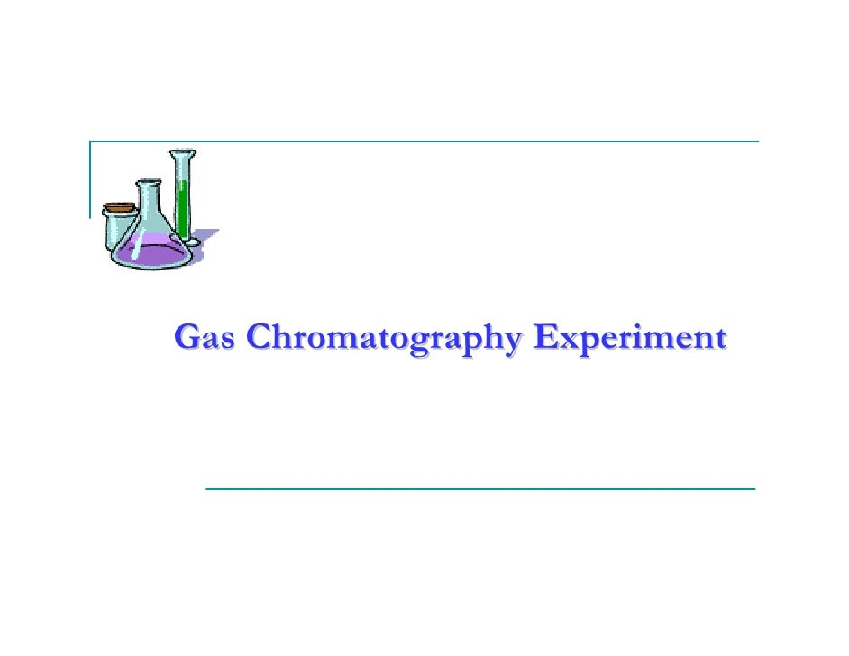 experiment on chromatography