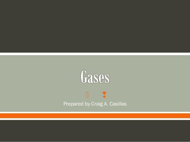   Prepared by Craig A. Casillas
