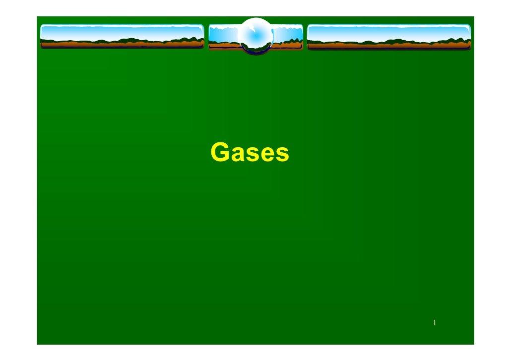 Gases             1