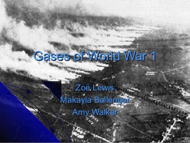 Gases ww1