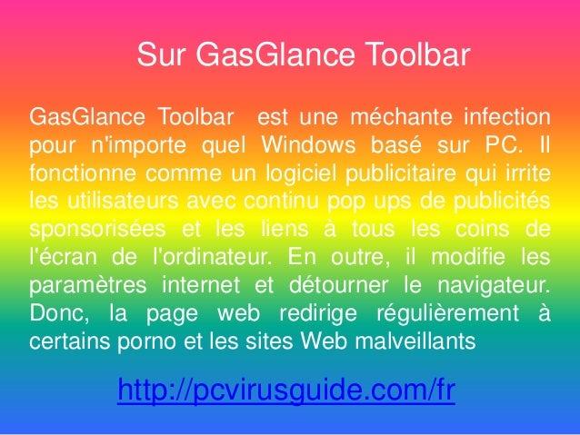Sur GasGlance Toolbar GasGlance Toolbar est une méchante infection pour n'importe quel Windows basé sur PC. Il fonctionne ...