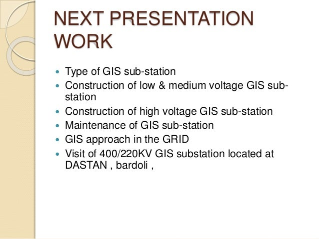 Gas Insulated Substation 1