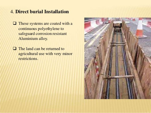 Gas insulated transmission line 9 4 direct burial installation publicscrutiny Gallery