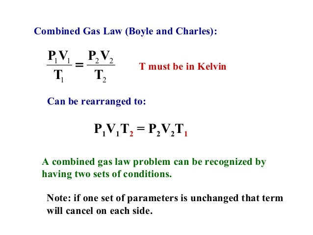 Gas Laws