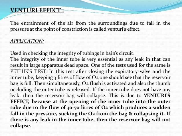 Venturi effect pdf