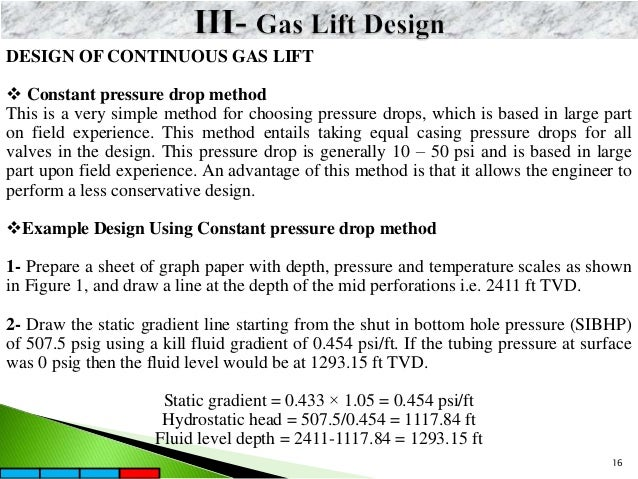 Gas Lift Design on Intermittent Gas Lift