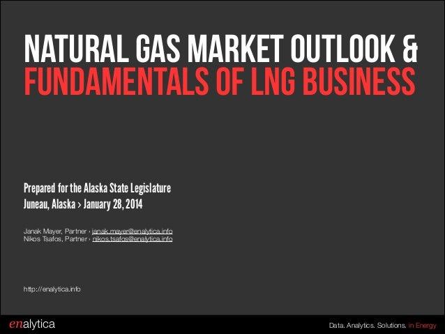 Natural Gas Market Outlook & Fundamentals of LNG Business Prepared for the Alaska State Legislature Juneau, Alaska › Janua...