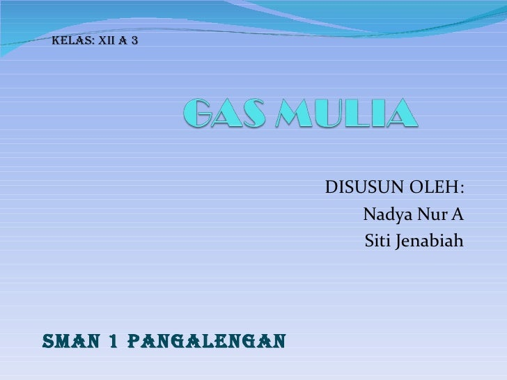 DISUSUN OLEH: Nadya Nur A Siti Jenabiah SMAN 1 PANGALENGAN Kelas: XII A 3
