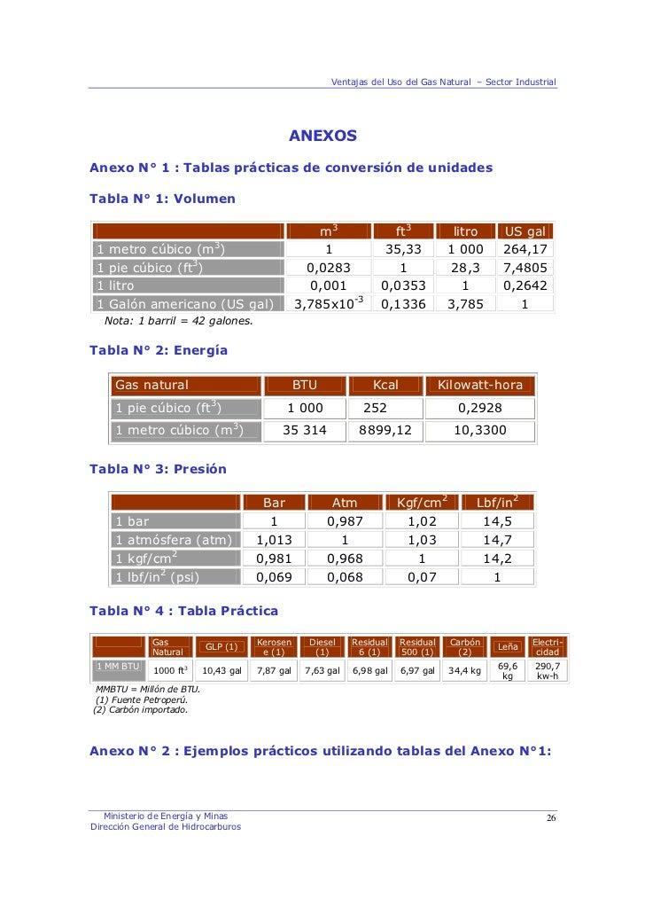 Gas Natural En El Sector Industrial Junio 09