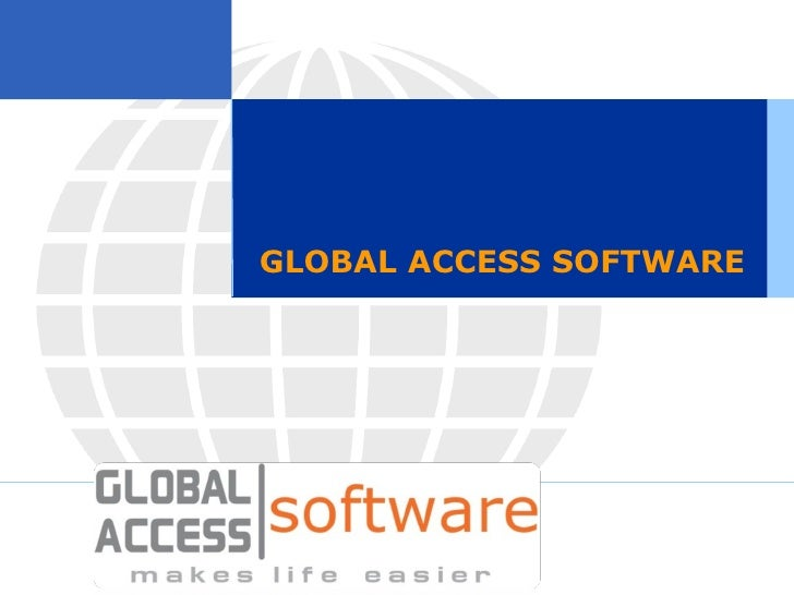 GLOBAL ACCESS SOFTWARE