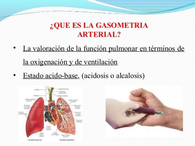 Gasometría arterial ppt Slide 2