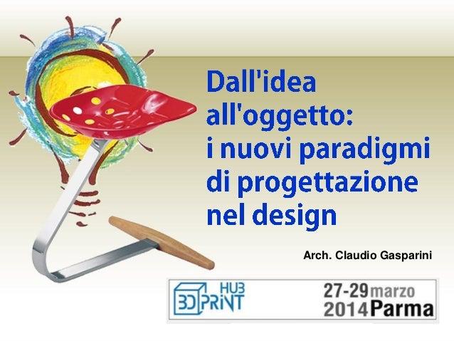 Arch. Claudio Gasparini