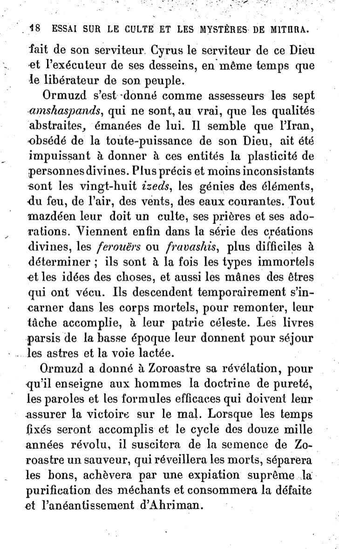 ESSAI SUR LE CULTE ET. LES                     MYSTÈRES DE MITIIRA.   ^S- dAssiirbanipal, recueillis à Ninive, en même tem...
