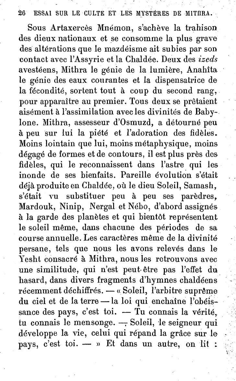"""""""        ,::   ESSAT SUR LE CULTE ET LES MYSTÈRES DE MITHRA.                   31        tpatrôiiago  du Bacchus de Thrace..."""