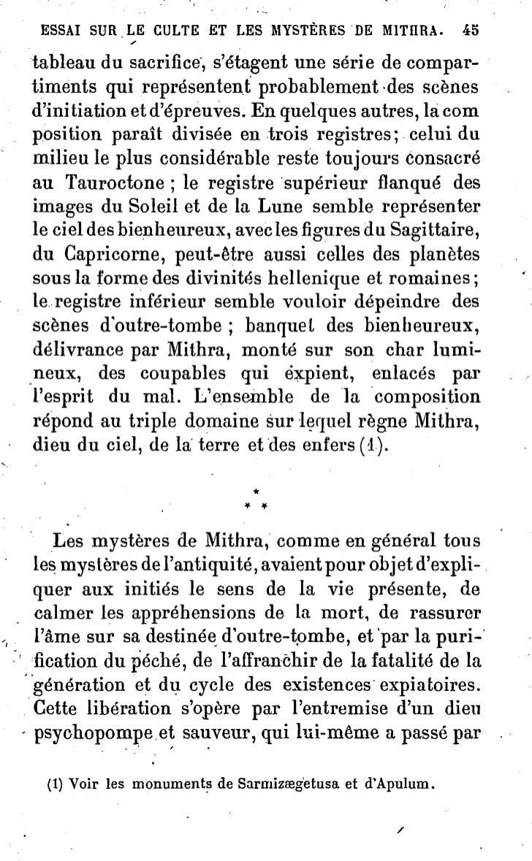 Gasquet.essai sur le culte et les mysteres de mithra.book