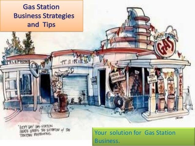 Free gasoline station business plan