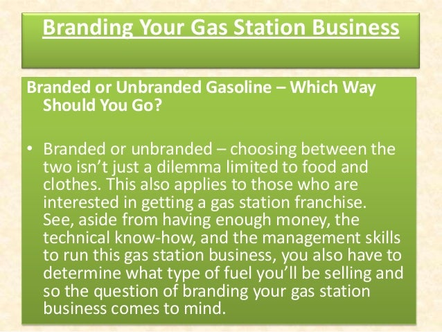 business plan for gas station The enclosed financial proposal shows this to be a profitable business venture   residency, has decided to take an abandoned gas station and renovate it to.