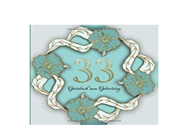 Geburtstag 33 jahre Geburtstagswünsche zum