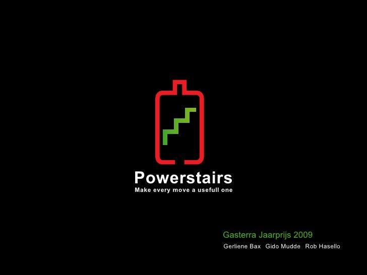 Powerstairs Makeeverymoveausefullone                               Gasterra Jaarprijs 2009                           ...