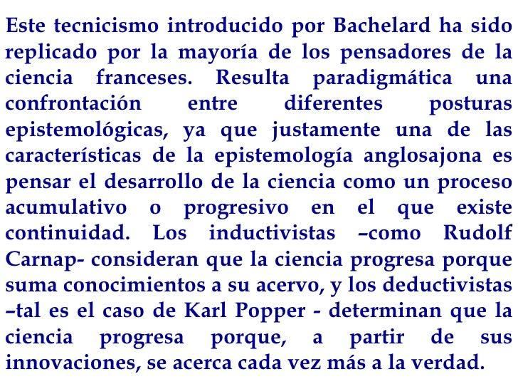 racionalismo aplicado bachelard pdf
