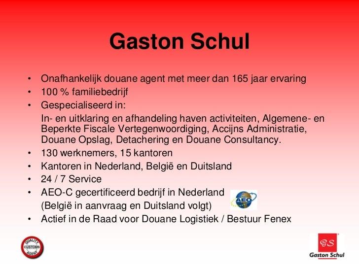 Gaston schul over Exportdocumenten en Serenga Slide 3