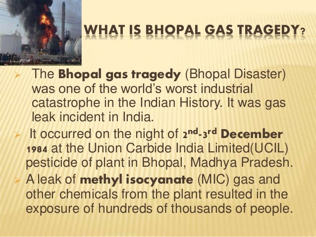bhopal disaster causes and effects Man made disasters list what are the causes and effects of man made bhopal, india: bhopal disaster effects of man made environmental disasters part 1.