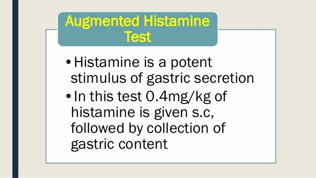 Gastric Function Test 2