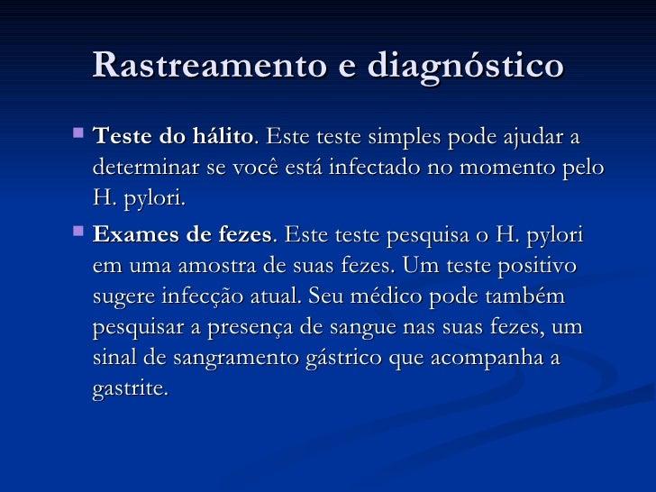 Exame gastrite