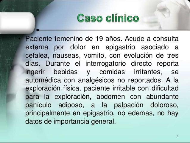 Causas de gastritis cronica pdf