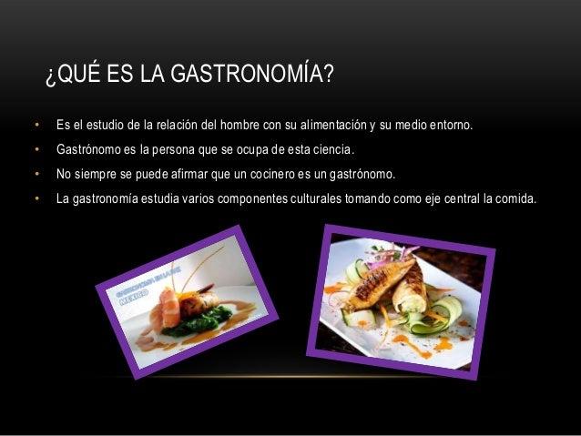 gastronom a