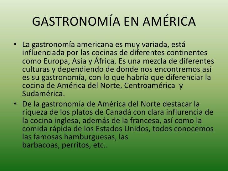 Gastronom a en el mundo for Historia de la gastronomia pdf
