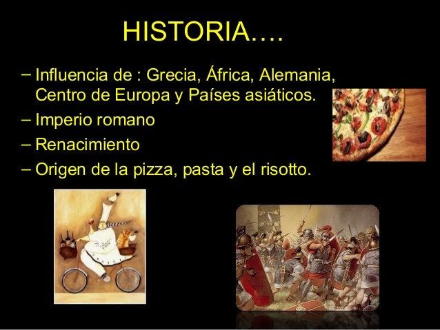 Gastronom a italiana for Historia de la gastronomia pdf