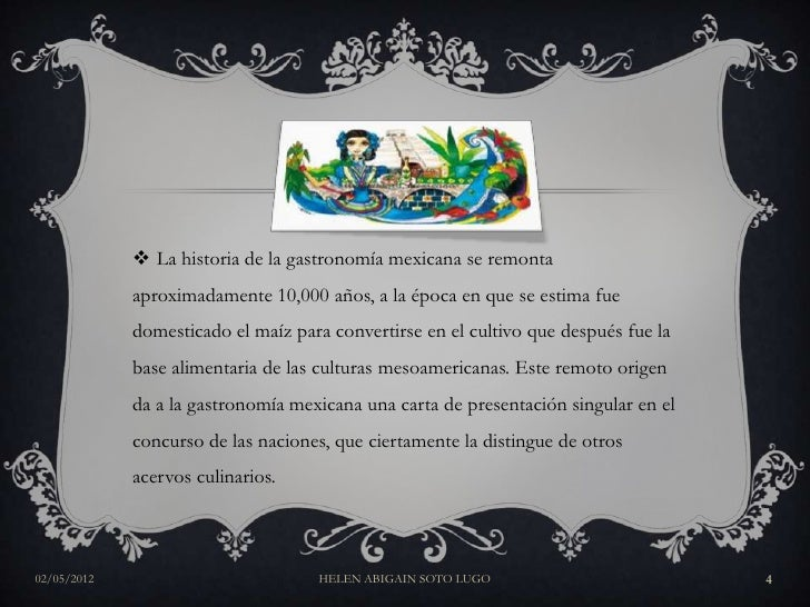 Gastronom a mexicana for Caracteristicas de la gastronomia francesa