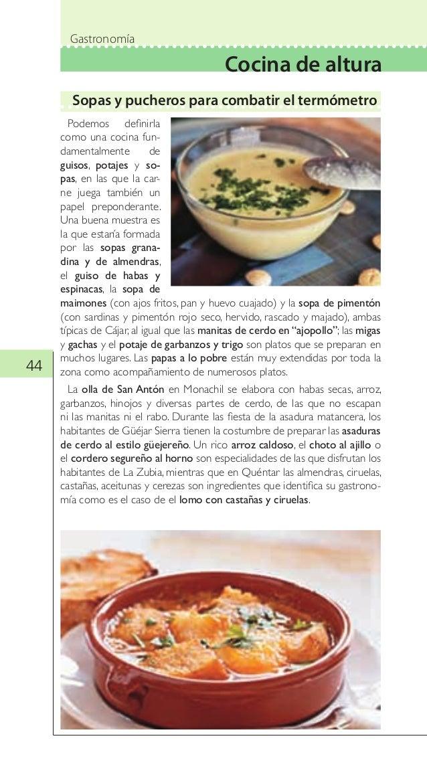 Guía Turística de Gastronomía de Granada