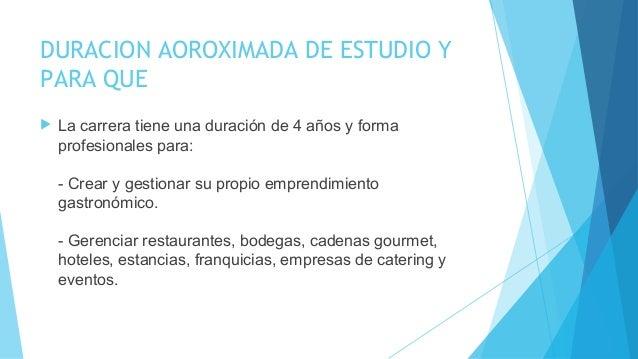 DURACION AOROXIMADA DE ESTUDIO Y PARA QUE  La carrera tiene una duración de 4 años y forma profesionales para: - Crear y ...