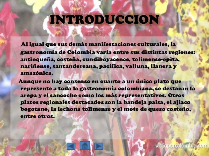 Gastronomia colombiana for Introduccion a la gastronomia pdf