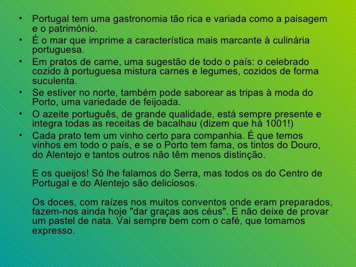 Gastronomia de portugal prezentare Slide 2