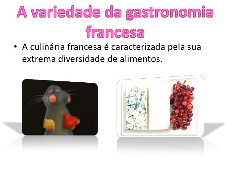 Gastronomia francesa for Tipos de comida francesa