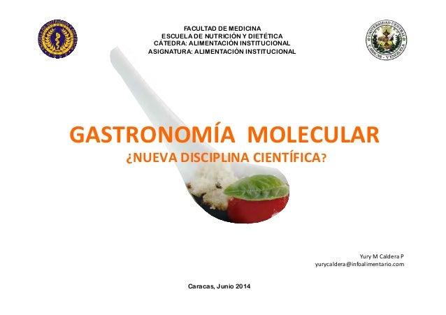 Gastronomia molecular for Libros de cocina molecular