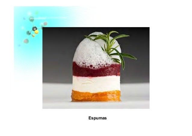 Gastronomia molecular for Espumas gastronomia molecular