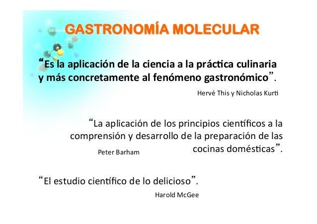 Gastronomia molecular - La cocina y los alimentos harold mcgee pdf ...